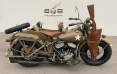 Harley-Davidson Side-Car WLA FLATHEAD ARMY