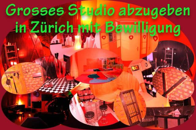 Grosses X-Studio abzugeben