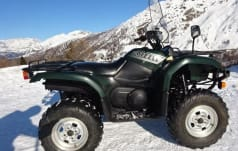 Yamaha Quad YFM 660 Grizzly