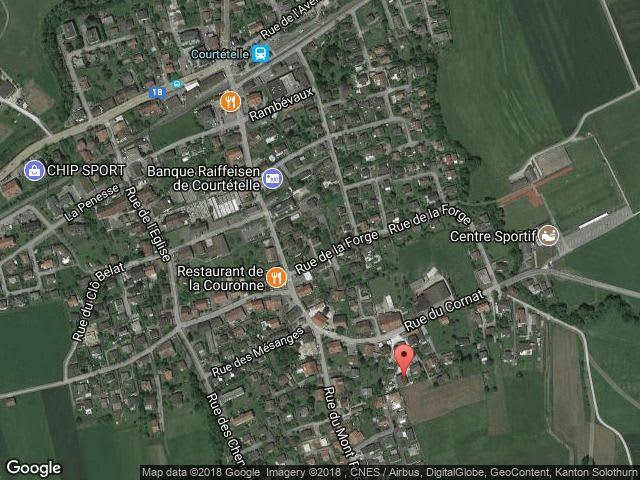 Aussenparkplatz ,  CH-2852 Courtételle, Au Cornat 10